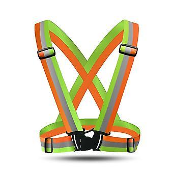 Reflective Vest Clothing Elastic Straps / Reflecting Clothing
