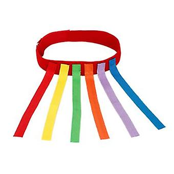 Pull The Tail Toy Sticky Jersey Sense Training Equipment Outdoor Sports Games