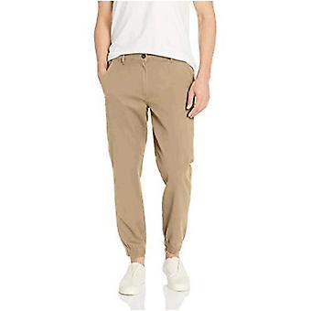 Essentials Heren Slim-Fit Jogger Pant, Olive, X-Large