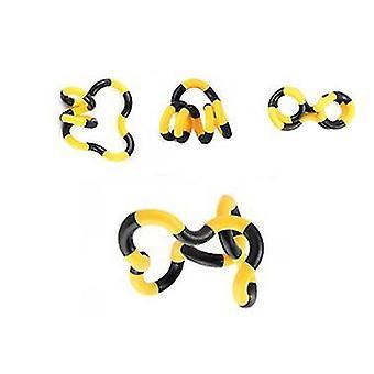 2Pcs oranje huishouden scheurbare kleverige papierrol borstel plakken haar az2686