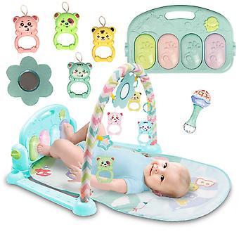 Baby gym mat met speelboog + piano – 75 x 69 x 45 cm