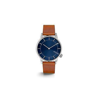 KOMONO Winston blue cognac - reloj unisex