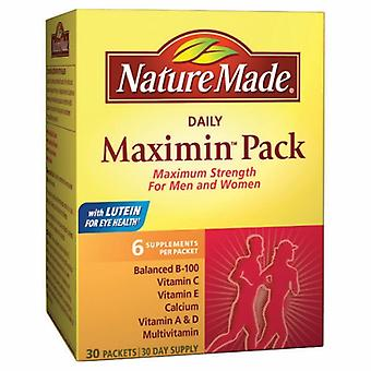Nature Made Daily Maximin Pack, 30 Each
