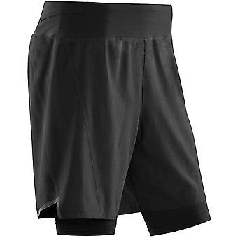 CEP Run 2in1 3.0 Men's Running Shorts, Black/Black
