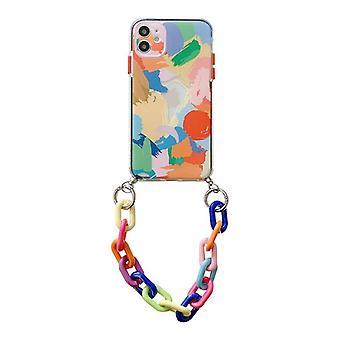 iphone12携帯電話シェル8plusアップル11シリコンシェルxsソフトシェルxsmax xrブレスレットケース適用