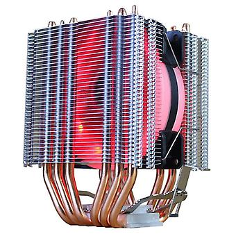 Cooling fan cpu cooler  6 heat-pipes dual-tower cooling 9cm rgb fan led fan support 3 fans
