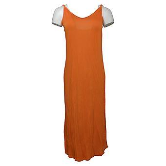 Rara Avis af Iris Apfel Dress Cami Dress m/ Side Slits Orange 656690