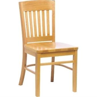Jaeger Wood Dining Kitchen Chair - Beech Frame Fully Assembled