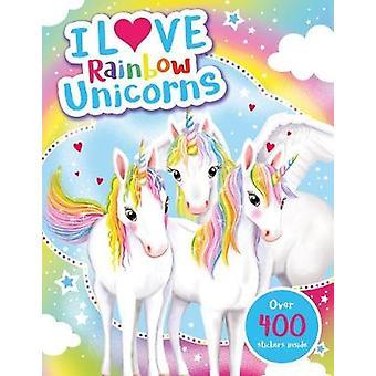 I Love Rainbow Unicorns! Activity Book