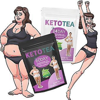 30 días de té adelgazante cetogénico para adelgazar, perder peso y energía (té de la mañana)