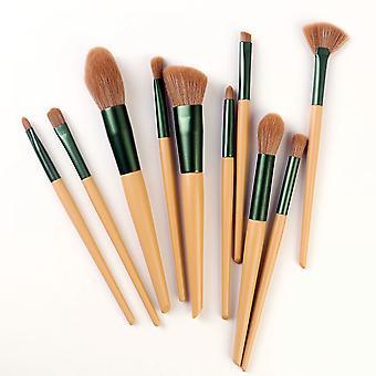 10pcs Makeup Brush Set Blush Loose Powder Eye Shadow Brush Beauty Tool