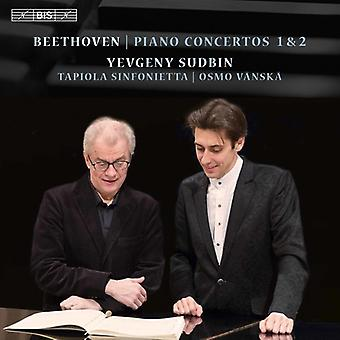 Beethoven / Sudbin / Sinfonietta / Vanska - Ludwig Van Beethoven: Piano Concertos Nos 1 & 2 [SACD] USA import