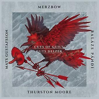 Merzbow / Gustafsson, Mats / Pandi, Balazs / Moore - Cuts of Guilt Cuts Deeper [CD] USA import
