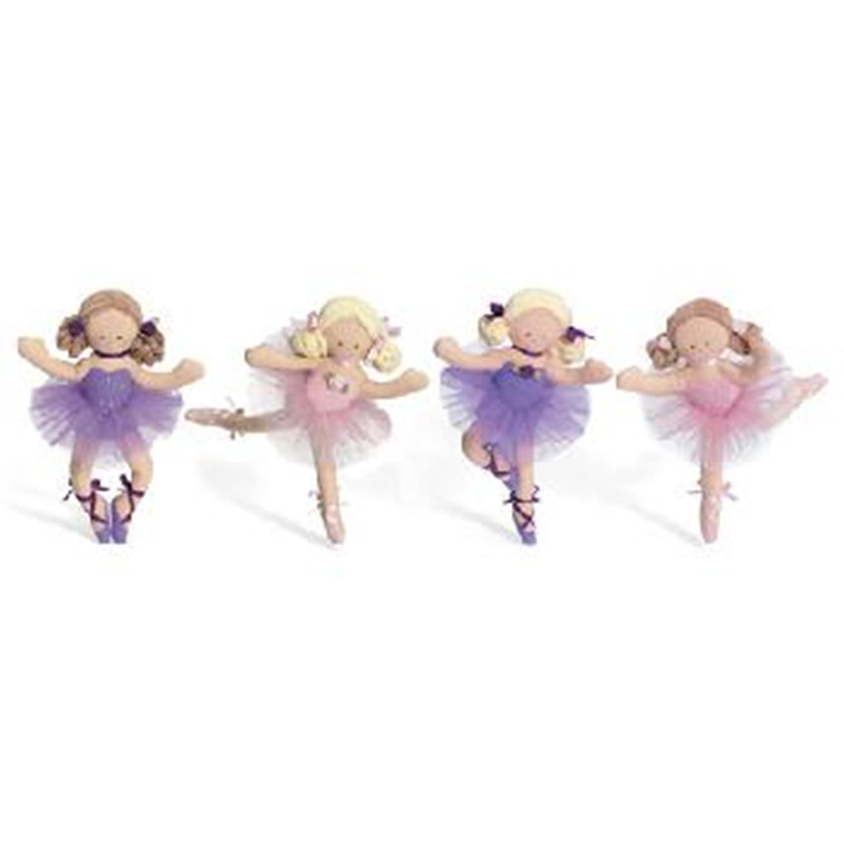 North American Bear Company Set of 2 Fancy Prancer Dancers Finger Puppets