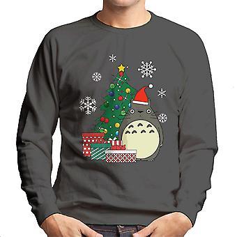 Totoro Weihnachtsbaum Studio Ghibli Herren Sweatshirt