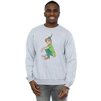 Disney Herren Klassiker Peter Pan Sweatshirt
