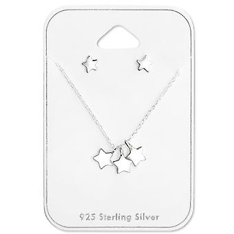 Star - 925 Sterling Silver Sets - W28931x