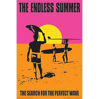The Endless Summer Poster Print by John Van hammersveld (24 x 36)
