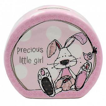 Little Miracles Baby Boys/Girls Ceramic Money Box