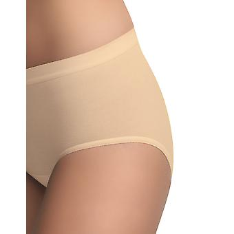BlackSpade 1312 Women's Nude Knickers Panty Brief 3 Pack