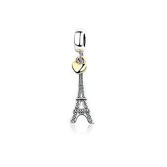 Charms Bead Pendant Tour Eiffel Paris en Argent 925 6088