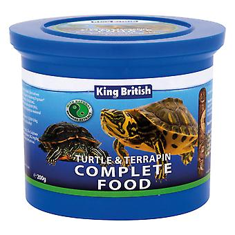 King British Turtle & Terrapin Complete Food 200g - Valentina Valentti UK