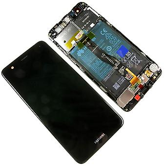 Huawei Nova display unit LCD frame 02351CKD complete touch screen battery black