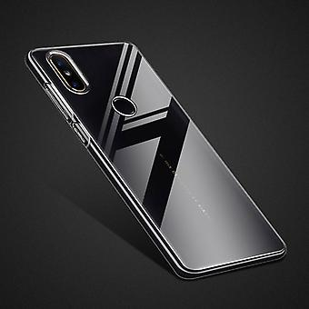 Für Xiaomi Mi MIX 2S Silikoncase TPU Schutz Transparent Tasche Hülle Cover Etui Zubehör Neu