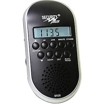 Security Plus BR28 MP3/USB Bicycle radio Black/silver
