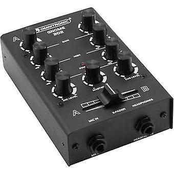 Omnitronic gnome E-202 2-kanaals DJ mixer