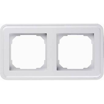 Sygonix 2x Frame SX.11 Sygonix white, (glossy) 33594V