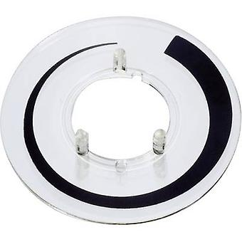 OKW A4416020 Dial tilavuus merkki sopii 16 mm nupit 1 kpl/s