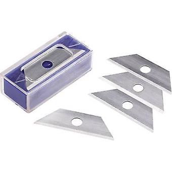 Coltello cutter lame SK-5 9 mm la TOOLCRAFT 824598