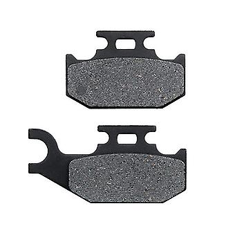 Front Right Brake Pads for 2007-2010 CAN AM Outlander Max 650 XT 4X4 - Non-Metallic Organic NAO Brake Pads Set