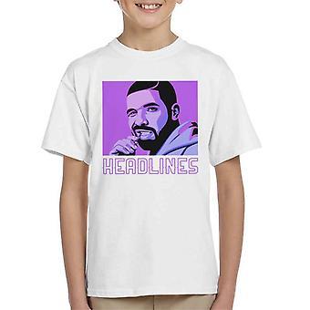 Drake, titelt Kinder T-Shirt