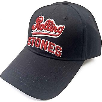 Rolling Stones Baseball Cap Team Stones Band Logo new Official Black
