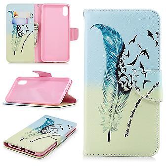 iPhone Max XS portafoglio sacchetto-piuma