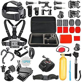 GoPro Kit 2 with 43 parts + bag