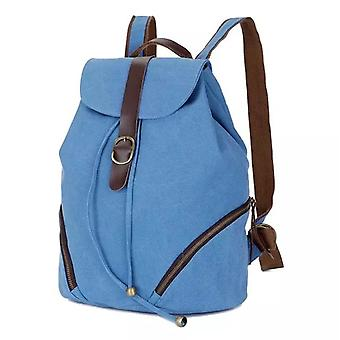 Blue Backpack in durable fabric