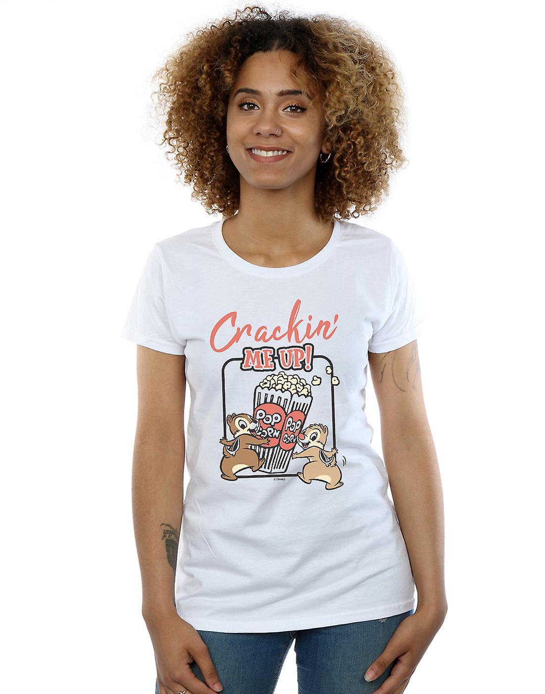 Disney Women's Chip N Dale Crackin Me Up T-Shirt