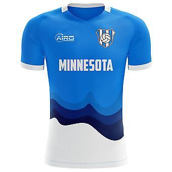 2019-2020 Minnesota Home Concept Football Shirt-Kids