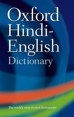 The Oxford Hindi-English Dictionary by R. S. McGregor - 9780198643395