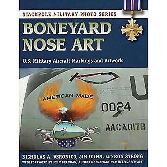 Boneyard näsa konst (Stackpole militär foto)