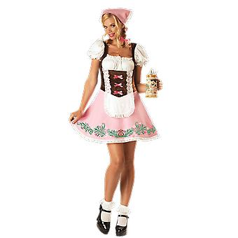Womens Fetching Fraulein Germany Oktoberfest Fancy Dress Costume