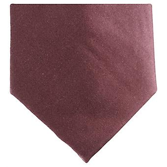 Knightsbridge Neckwear Regular Polyester Tie - Light Brown