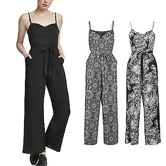 Urban classics ladies - spaghetti summer jumpsuit
