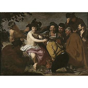 The Drunkards, Diego Velazquez, 50x36cm