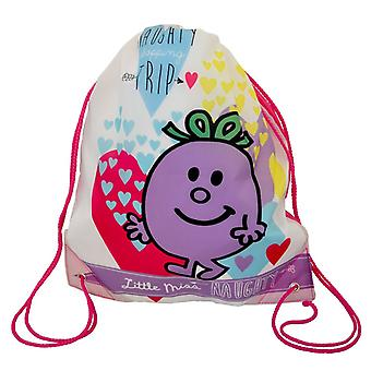 Little Miss Naughty Heartdrop Trainer Bag