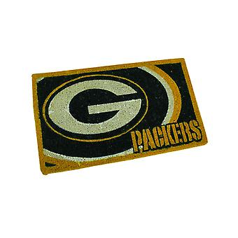 NFL Green Bay Packers Sports Team Logo 30 x 18 inch Coir Doormat