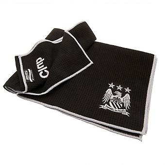 Manchester City FC Offizielle Aqualock Caddy Handtuch